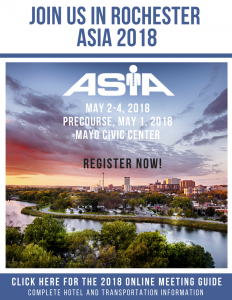 REGISTER NOW! ASIA 2018