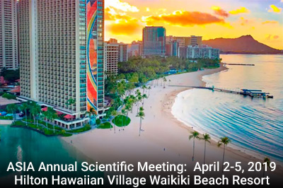 ASIA Annual Meeting Hotel Reservations